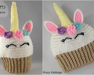 Unicorn Beanie Free Crochet Pattern