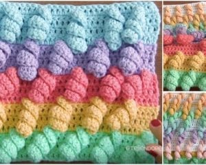 Unicorn Stitch Free Crochet Pattern & Tutorial