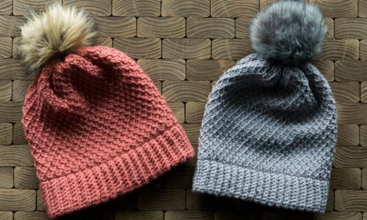 Brugge Beanie Slouch Free Crochet Pattern