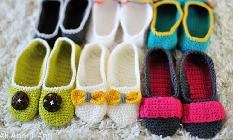 Slippers With A Twist Free Crochet Pattern Your Crochet