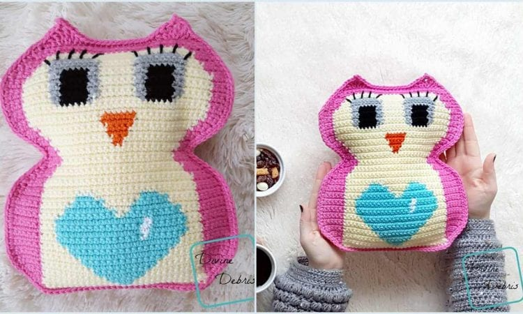Heart Belly Owl Free Crochet Pattern