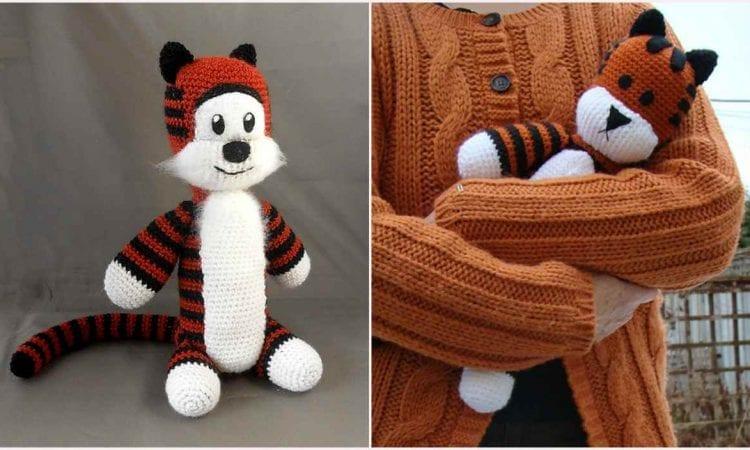 Crochet Amigurumi Hobbes Free Pattern