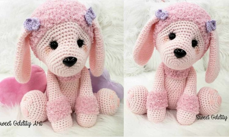 Lucy The Poodle Free Crochet Pattern Amigurumi