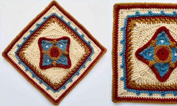 Shifty Little Square Free Crochet Pattern