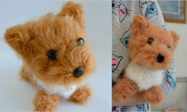 Dog Amigurumi Free Crochet Pattern