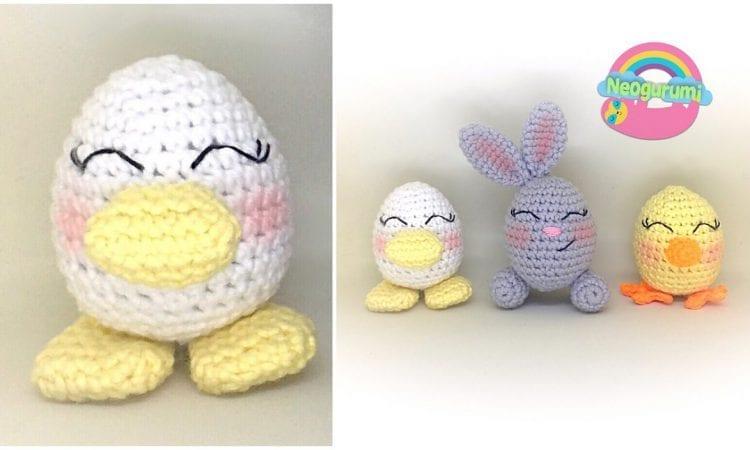 Egg Buddies Free Crochet Pattern