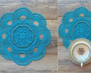 Elise Doily or Rug Free Crochet Pattern