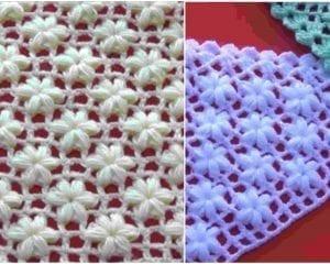 Jasmine Flower Stitch Free Crochet Pattern