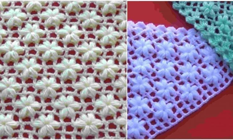 Jasmine Flower Stitch Free Crochet Pattern