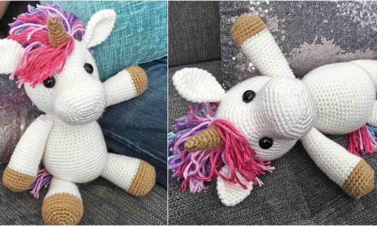 Jazzy the Unicorn Free Crochet Pattern