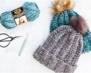 Knit-look Benie in 1 Hour Free Crochet Pattern