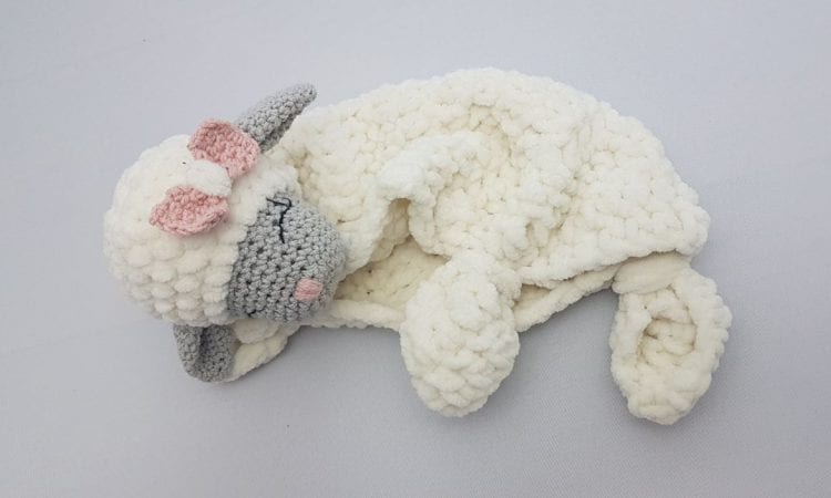 Little Mary Lamb Lovey Free Crochet Pattern
