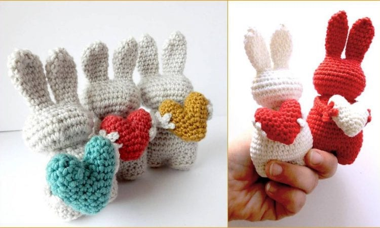 Love Bunny Amigurumi Free Crochet Pattern