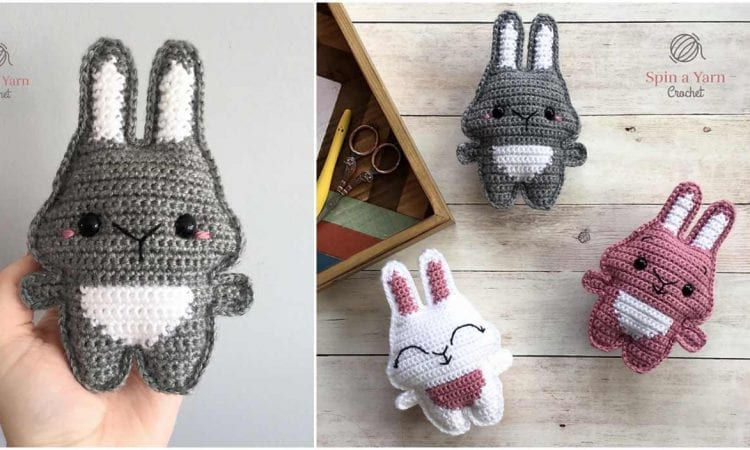 Pocket Bunny Free Crochet Pattern