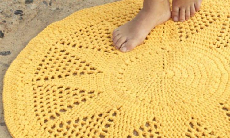 Sol Sunny Rug Free Crochet Pattern