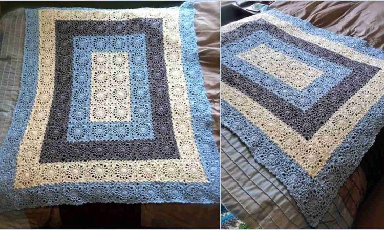 Square Upon Square Free Crochet Pattern