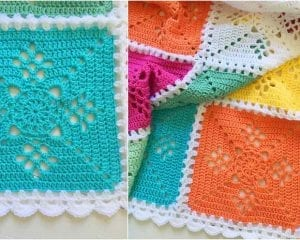 Victorian Lattice Baby Blanket Free Crochet Pattern