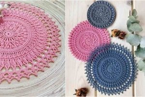 Tesla Doily Free Crochet Pattern