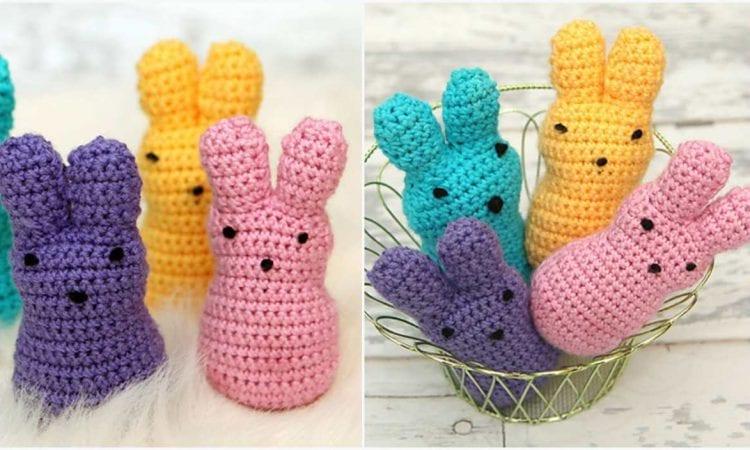 Easter Peeps Free Crochet Pattern