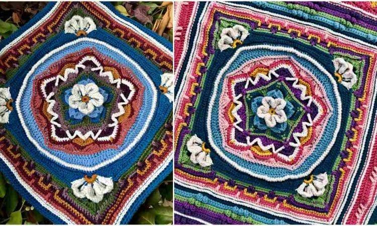 Colorado Square Free Crochet Pattern