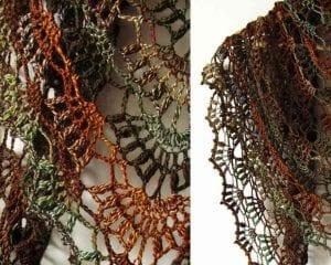 Fall River Shawl Free Crochet Pattern