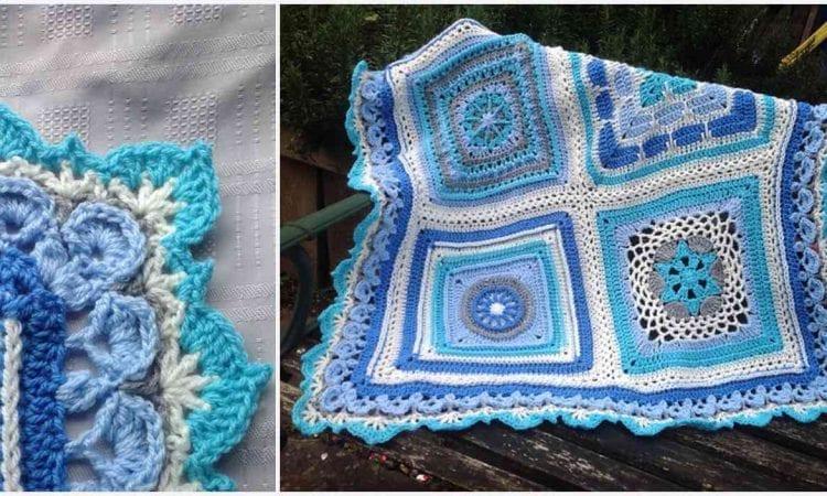 Persian Dream Border Free Crochet Pattern