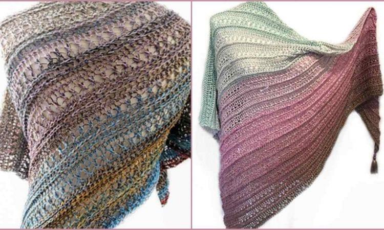 Banrion Shawl Free Crochet Pattern