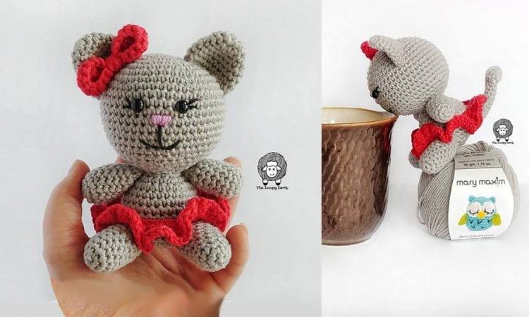 Clawdia Amigurumi Cat Free Crochet Pattern