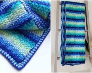 Little Helper Blanket Free Crochet Pattern