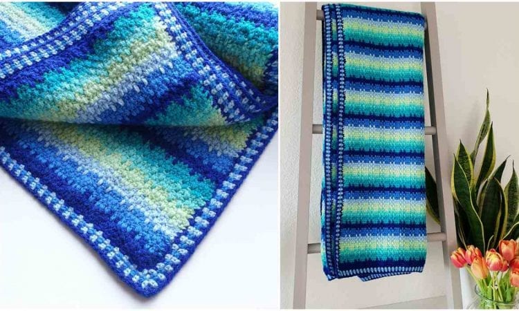 Little Helper Blanket Free Crochet Pattern