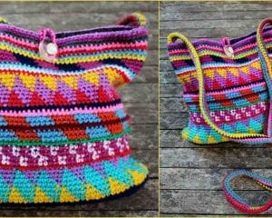 Maya Purse Free Crochet Pattern
