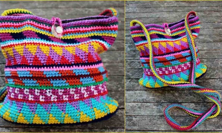 Maya Purse Free Crochet Pattern