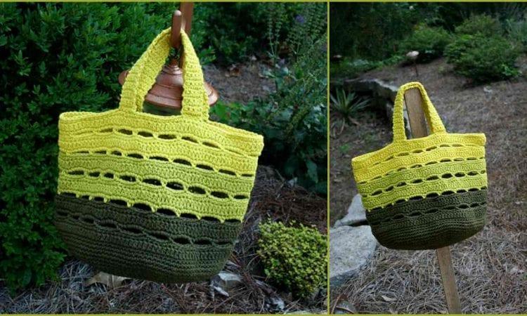 Stash Bag Free Crochet Pattern