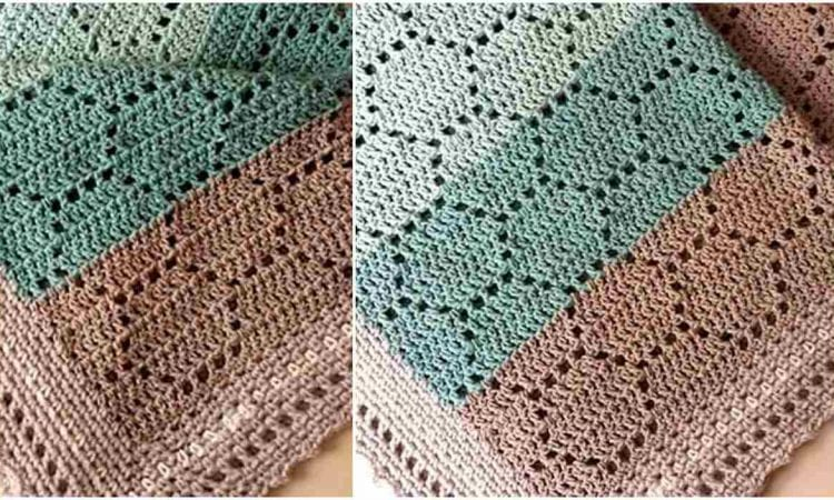 Sweet As Can Bee Baby Blanket Free Crochet Pattern