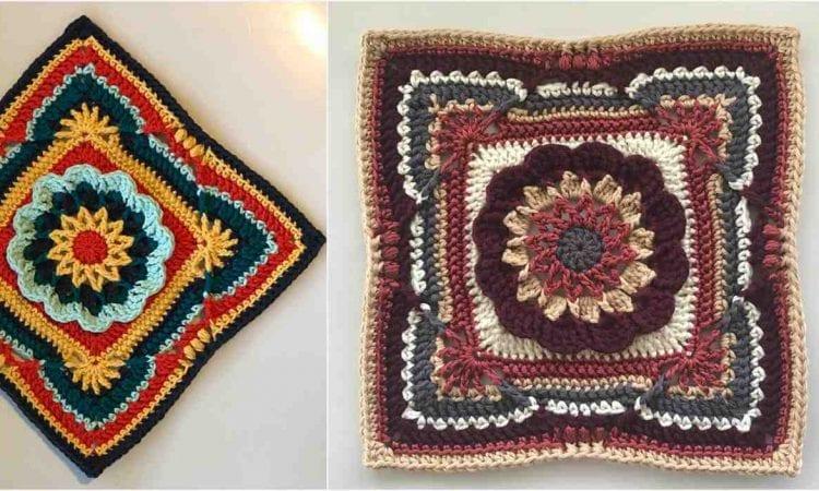 Madux James Square Free Crochet Pattern