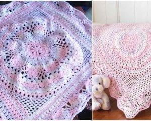 Baby Delight Blanket Free Crochet Pattern