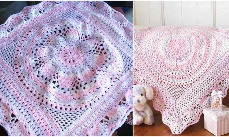 Baby Delight Blanket Free Crochet Pattern