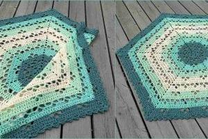 Cloudberry Blanket Free Crochet Pattern