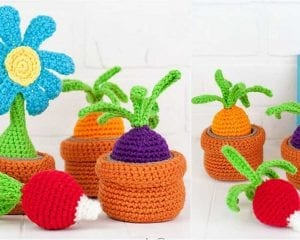 Container Garden Toy Free Crochet Pattern