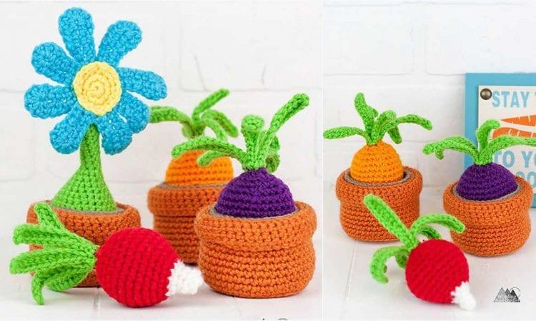Container Garden Toy Free Crochet Pattern
