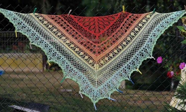 Ediothia Shawl Free Crochet Pattern