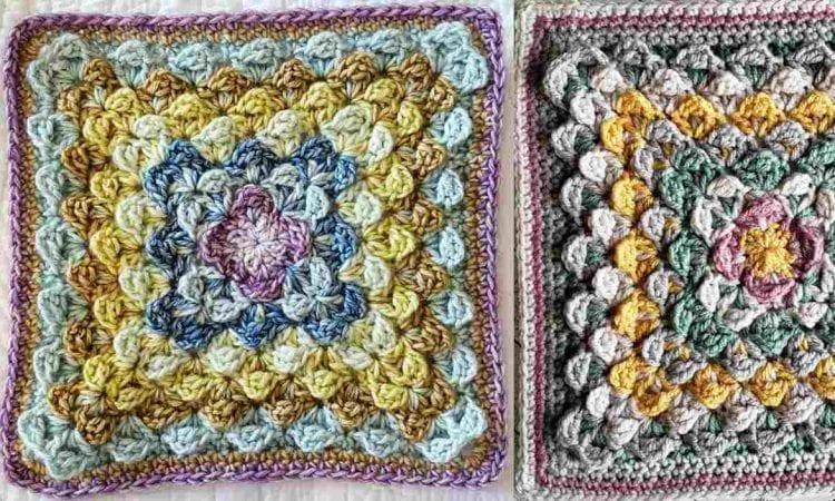 Finding Balance Square Free Crochet Pattern