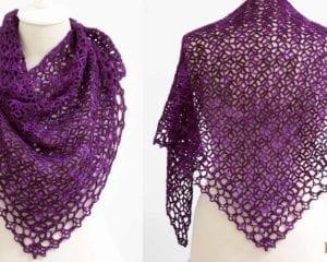 Fortune's Shawlette Free Crochet Pattern