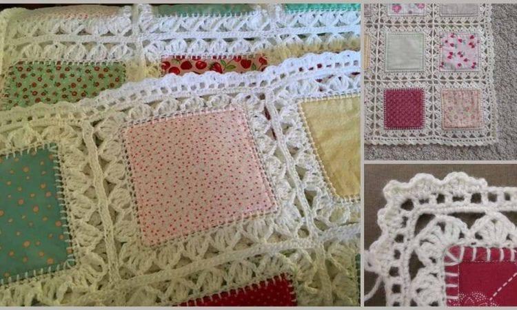 Hight Tea Fusion Border Free Crochet Pattern