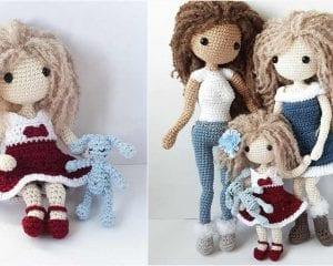 Lulu Doll Free Crochet Pattern