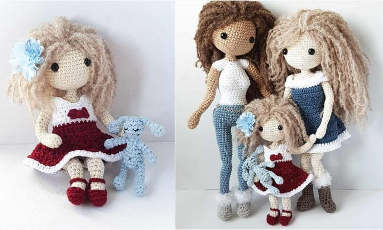Lulu Doll Free Crochet Pattern