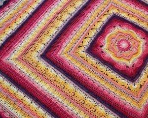 Phoenix Blanket Free Crochet Pattern