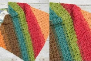 Rise and Shine Blanket Free Crochet Pattern