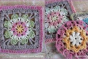 Scrapsrific Rainbow Blanket Free Crochet Pattern