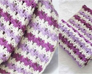 Sweet Dreams Baby Blanket Free Crochet Pattern